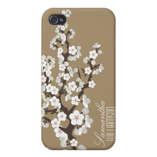 4 Cherry Blossom (chocolate) iPhone 4 Covers