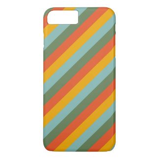 4 Color Stripes Pattern iPhone 7 Plus Case