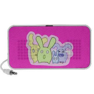 4 cute things T3T Mini Speakers