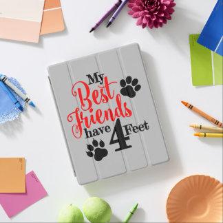 4 Feet Best Friends iPad Cover