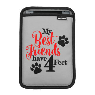 4 Feet Best Friends iPad Mini Sleeve