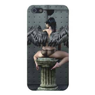 4 Gothic Angel  Case For iPhone 5/5S