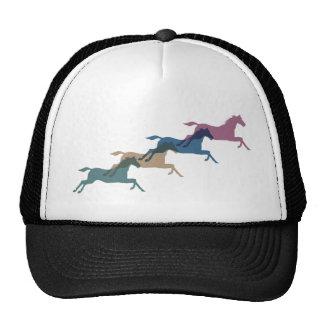 4 Horses Mesh Hat