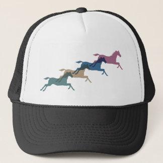 4 Horses Trucker Hat