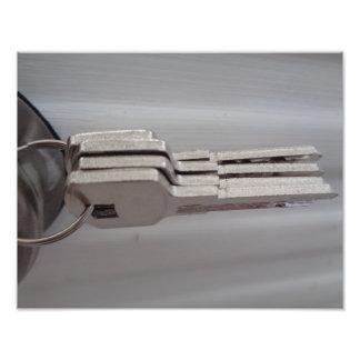 4 keys on a key ring art photo