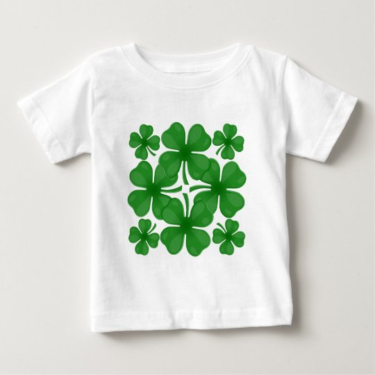 4 leaf clover baby T-Shirt