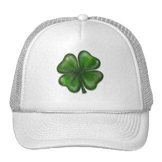 4 leaf clover hat