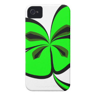 4 leaf clover iPhone 4 cover