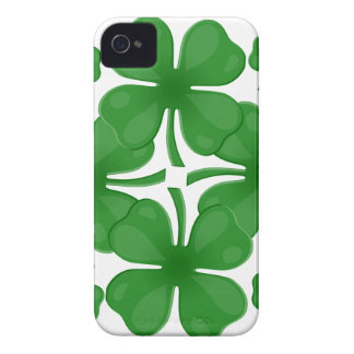4 leaf clover iPhone 4 covers