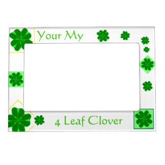 4 Leaf Clover Magnetic Picture Frame