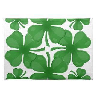 4 leaf clover placemat