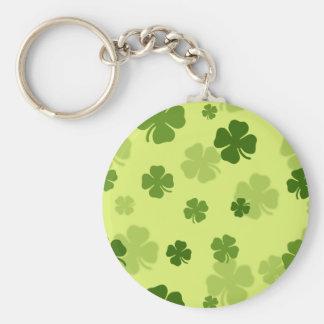 4 Leaf Clovers Keychain