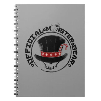 4 Little Monsters - Andy Holiday Logo Spiral Notebook