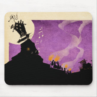 4 Little Monsters - Halloween Night Mouse Pad