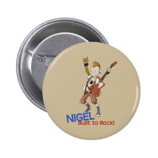 4 Little Monsters - Nigel 6 Cm Round Badge