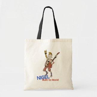 4 Little Monsters - Nigel Tote Bags