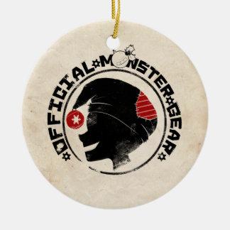 4 Little Monsters - Nigel Holiday Logo Christmas Ornament