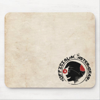 4 Little Monsters - Nigel Holiday Logo Mouse Pad