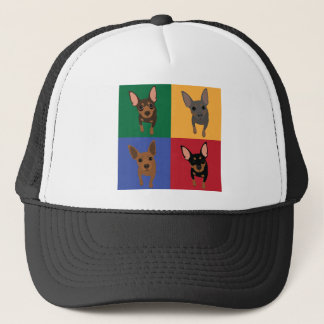 4 Min Pin Pop Art Trucker Hat