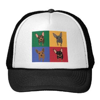 4 Min Pin Pop Art Trucker Hat