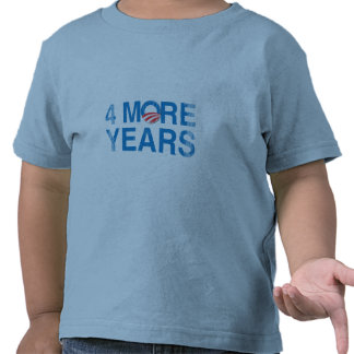 4 MORE YEARS OF OBAMA Vintage.png Tee Shirt