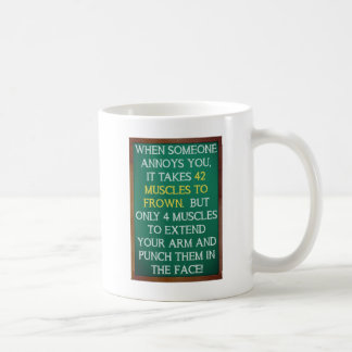 4 Muscles to Punch Funny Mug