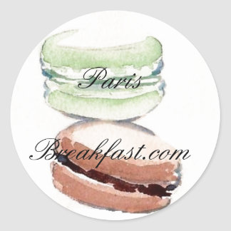 4 Paris Macarons sticker