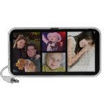 4 Photo Collage Personalised Desktop Speaker