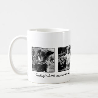 4-Photo Template Personalized Coffee Mug