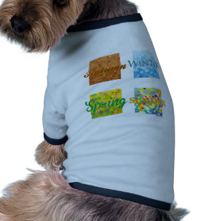 4 Seasons Graphics and colors Doggie T Shirt