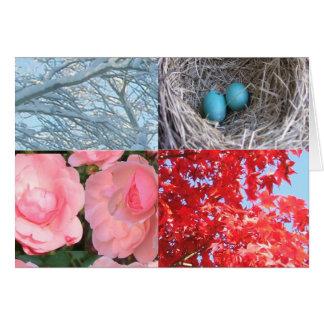 4 Seasons Note Card