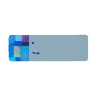 4 Seasons Winter nepal Gift Tag Sticker Return Address Label