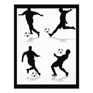 4-soccer-players 21.5 cm x 28 cm flyer