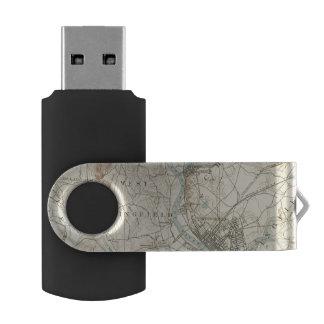 4 Springfield sheet Swivel USB 2.0 Flash Drive