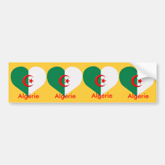 4 stickers carosserie automobile  algerie algeria bumper sticker