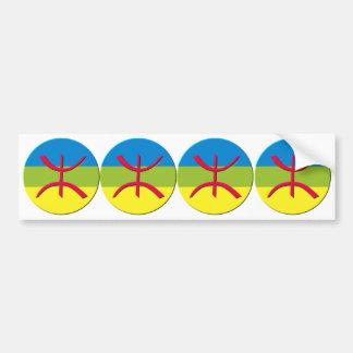 4 stickers carosserie automobile berbere amazigh