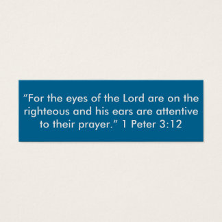 """""""4 the eyes of the Lord"""" Little Note Cards"""