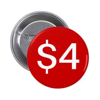 $4 Vendor / Sales Button