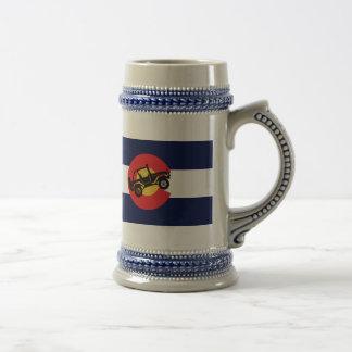 4-Wheeler-in-CO-Flag-2 Beer Stein