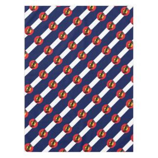 4-Wheeler-in-CO-Flag-2 Tablecloth