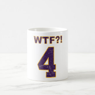 #4 WTF?! Brett Favre? Vikings? pro Packers mug