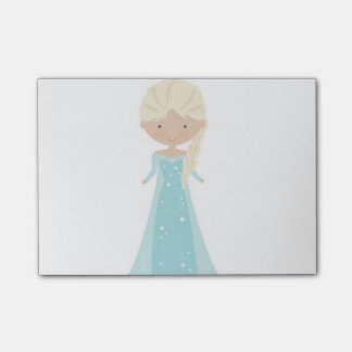 4 x 3 Post It Notes -- Animated Elsa from Frozen