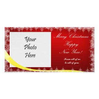 "4"" x 8"" Holiday Photo Card for Christmas"