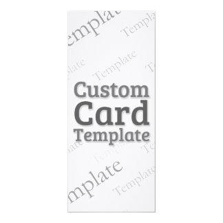 """4"""" x 9.25"""" Linen White Invitation Custom Template 4"""" X 9.25"""" Invitation Card"""
