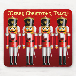 4 Xmas Nutcrackers Mouse Pad