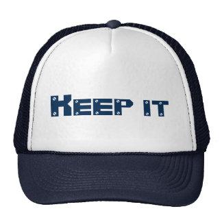 4A SET (Keep it) Navy blue Hat