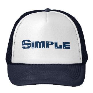 4A SET (Simple) Navy blue Hat