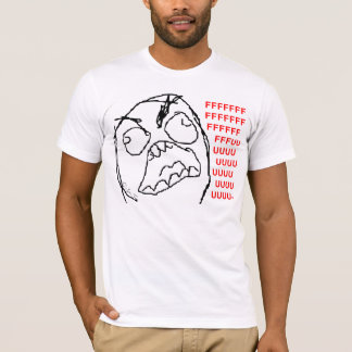4chan Rage Guy T-Shirt