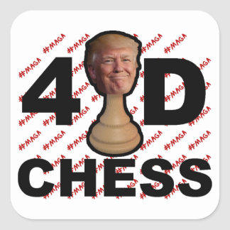 4D Chess Stickers