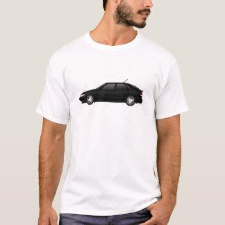 4door_talledega black with viggen antenna T-Shirt